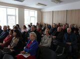 Savivaldybės vadovai ataskaitas pateikė Gardamo bendruomenei