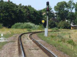 Geležinkelio kelyje rastas sprogmuo
