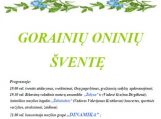 Gorainių kaimo Oninių šventė