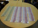 Kelnėse rusas slėpė didelį kiekį valiutos