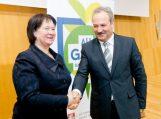 Meras Žemės ūkio ministerijoje pasirašė memorandumą