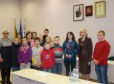 Vaikų viešnagė savivaldybėje