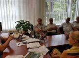 Savivaldybės vadovų vizitas pas kolegas
