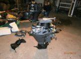 Šilutės rajono gyventojo garaže pasieniečiai aptiko įtartinų variklių