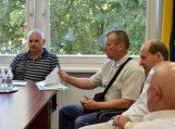 Susitikimas su Tarvydų bendruomenės atstovais