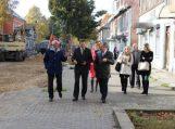 Projekto aptarimas Slavsko savivaldybėje
