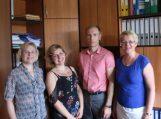 Šilutės rajono savivaldybės šokėjų ir chorų delegacija – Lietuvos moksleivių dainų šventėje