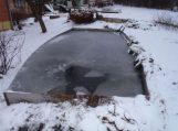 Pirmasis ledas – netvirtas ir pavojingas