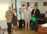 Svečių iš Vokietijos vizitas