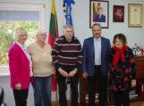 Savivaldybės meras susitiko su svečiais iš Vokietijos