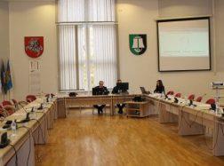 Tarybos dauguma neeilinio posėdžio metu paliko posėdžių salę