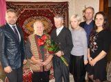 95-ojo jubiliejaus proga pasveikintas Petras Degutis
