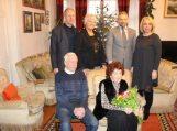 90-mečio proga pasveikinta pedagogė senjorė Aldona Petrošienė