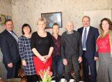 Savivaldybės vadovo sveikinimai Usėnuose gyvenančiam šimtamečiui