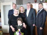 90-mečio proga pasveikinta šilutiškė Adelė Rupeikienė