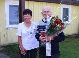 90-ojo gimtadienio sveikinimai Pranciškui Juciui