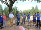 Susitikimas dėl motokroso trasos Šilmeižių kaime