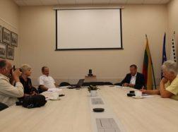 Įvyko Savivaldybės vadovų spaudos konferencija