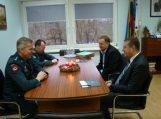 Susitikimas su policijos komisarais