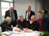 Savivaldybės vadovai domėjosi sporto kompleksų statybų patirtimi