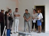Savivaldybės vadovai apžiūrėjo remontuojamas švietimo įstaigas