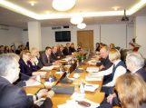Savivaldybės vadovai lankėsi pas Žemės ūkio ministrą bei Kūno kultūros ir sporto departamente
