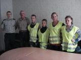 Jaunieji šauliai padės pareigūnams
