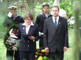 JAV ambasadorė pagerbė žuvusių karių atminimą