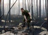 Miškui pavojinga net ir menka kibirkštis