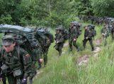 Įspėjimas dėl Lietuvos kariuomenės pratybų