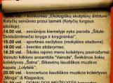 """Katyčių miestelio šventė """"Ir piliakalniai kalba…"""""""