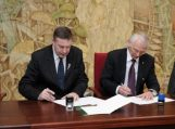 Pasirašyta bendradarbiavimo sutartis su Klaipėdos universitetu