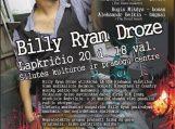 Dovanojame bilietus į gyvo garso Billy Ryan Droze koncertą