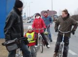 Dviratis jėga! Šilutiškiai oficialiai pradėjo dviratininkų sezoną