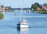 Pareigūnų patikrinimo vidaus vandenyse rezultatas – du neblaivūs laivavedžiai