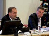 Savivaldybės mero Šarūno Laužiko spaudos konferencija