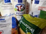 Informacija dėl maisto dalinimo nepasiturintiems balandžio mėnesį