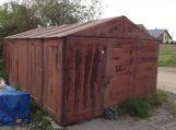 """""""Šanchajaus"""" garažų savininkams raginimas nusikelti garažus iš valstybinės žemės"""