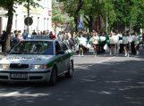 Miesto jubiliejaus iškilmių metu eismas bus ribojamas