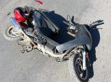 Nepastebėjo į kairę sukančio mopedo