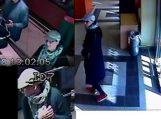 Policijos pareigūnai prašo atpažinti vagyste įtariamą asmenį