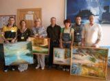 Nuteistieji Rusnei padovanojo 14 dailės darbų