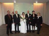Naujose Pagėgių savivaldybės Civilinės metrikacijos skyriaus patalpose užregistruota pirmoji santuoka