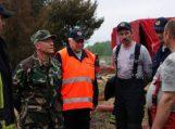Ugniagesiams gelbėtojams – atminimo ženklai ir padėkos