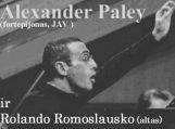 Alexander Paley ir Rolandas Romoslauskas koncertuos Šilutėje, renginys nemokamas