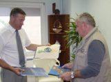 Šilutėje lankėsi Cittaducale savivaldybės meras
