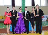""",,Lūgnės"""" šokėjai sėkmingai dalyvavo sportinių šokių konkursuose Tauragėje ir Liepojoje"""