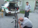 Traksėdiškis neteko keturių dviračių