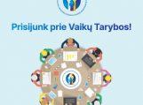 Vaiko teisių apsaugos ir įvaikinimo tarnyba pristato naują projektą: buria pirmąją Lietuvoje Vaikų tarybą ir kviečia dalyvauti atrankoje