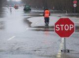 Kelyje į Rusnę – 89 cm vandens